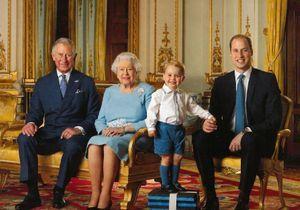 Une nouvelle photo du prince George pour le premier timbre à son effigie