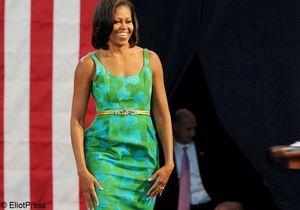 Michelle Obama: revue de  looks d'une First Lady en campagne