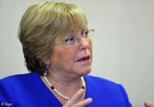 Michelle Bachelet : « Comme je suis une femme optimiste, j'y crois ! »