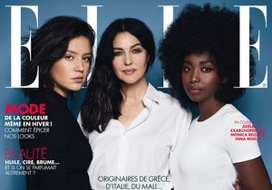 Adèle Exarchopoulos, Monica Bellucci et Inna Modja en couverture de ELLE