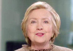 Le puissant message d'Hillary Clinton aux femmes