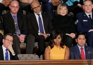 Michelle Obama : pourquoi elle a fait sensation… avec une chaise vide