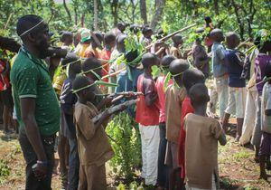 Plus de 350 enfants soldats libérés en Centrafrique