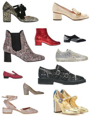 30 paires de chaussures à paillettes qui en jettent