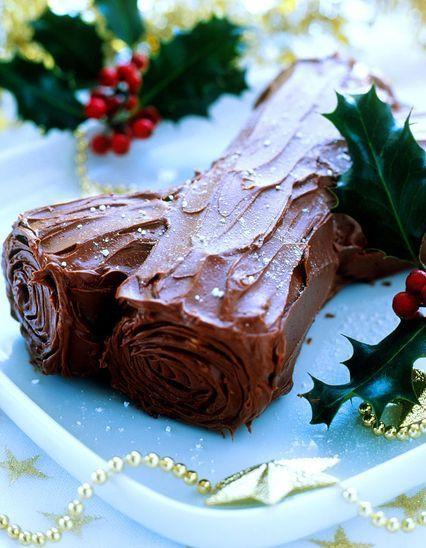 Desserts de no l les id es recettes de desserts de no l elle - Recette de noel dessert ...