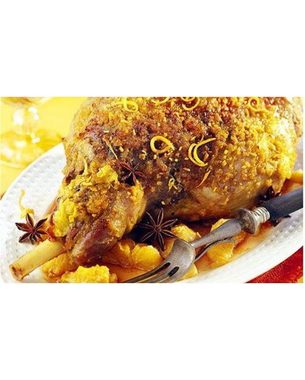 Gigot d agneau l orange et l anis toil pour 8 - Cuisine gigot d agneau ...