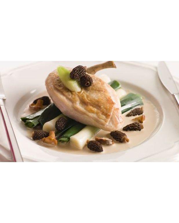 poulet aux morilles pour 5 personnes recettes elle 224 table