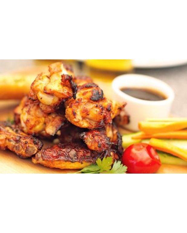 Recette poulet four trendy cuisses de poulet et pommes de terre au four with recette poulet - Cuisse de poulet grille au four ...