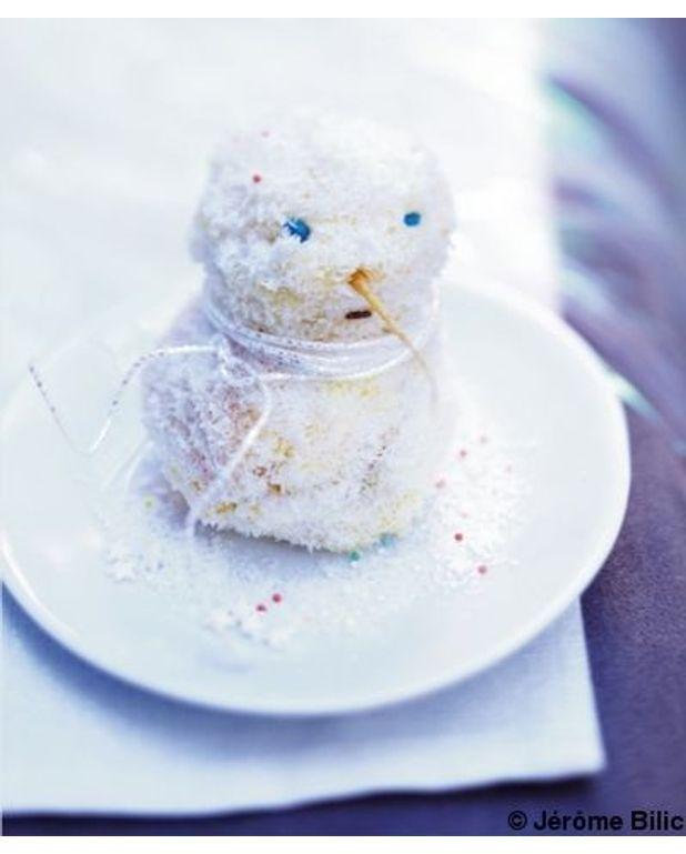bonhomme de neige cœur chocolat pour 6 personnes recettes à