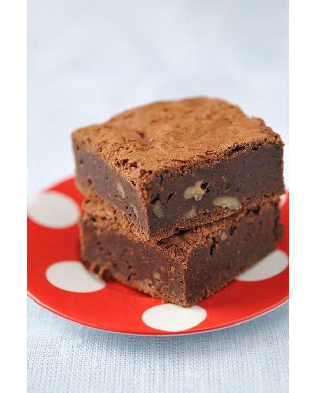 brownies aux amandes recettes elle table. Black Bedroom Furniture Sets. Home Design Ideas