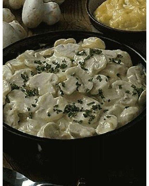 Champignons mayonnaise pour 4 personnes recettes elle table - Recette mayonnaise au mixeur ...