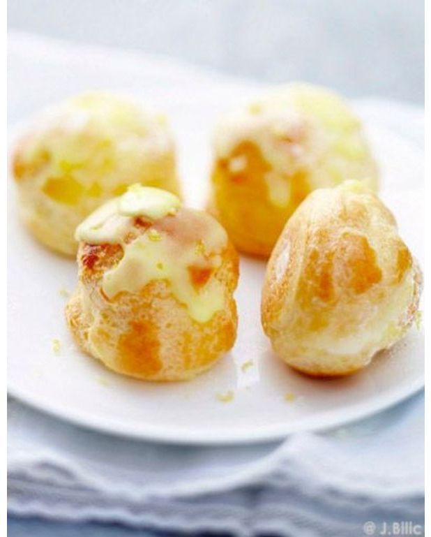 choux au citron pour 6 personnes recettes 224 table
