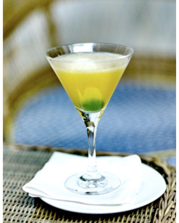 cocktail bourbon sour pour 1 personne recettes elle table. Black Bedroom Furniture Sets. Home Design Ideas