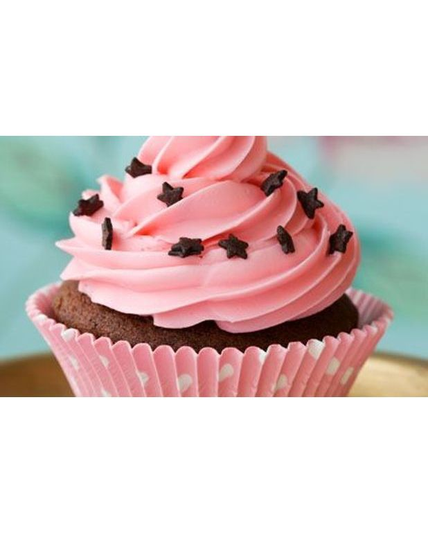 Cupcakes chocolat fraise pour 12 personnes recettes elle table - Recette de cupcake facile ...
