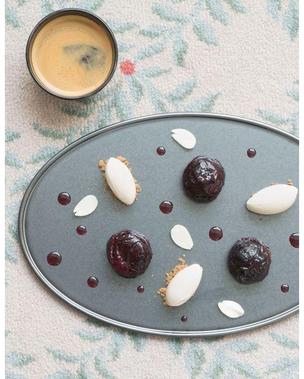 Figues en cocotte glace feuille de figuier pour 4 personnes recettes elle table - Feuille de cuisine ...