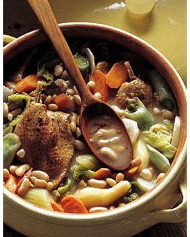 Garbure de canard pour 4 personnes recettes elle table - Arte cuisine des terroirs recettes ...