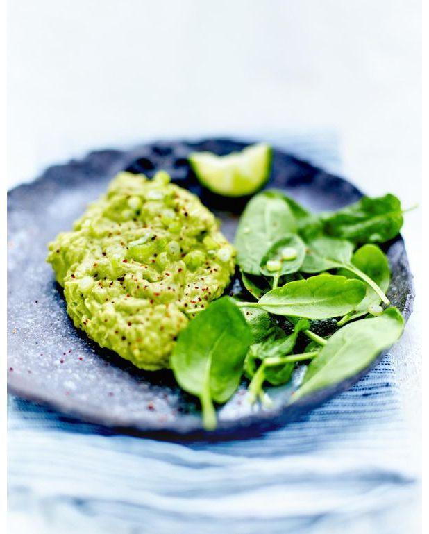 guacamole au quinoa pour 6 personnes recettes elle table. Black Bedroom Furniture Sets. Home Design Ideas