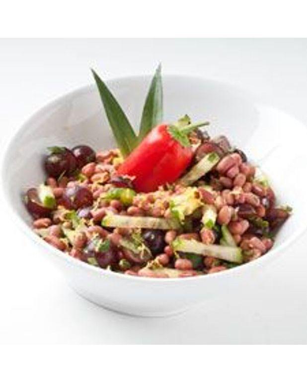 haricots rouges en salade sucr e pour 4 personnes recettes elle table. Black Bedroom Furniture Sets. Home Design Ideas