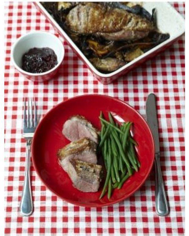 Magret de canard aux c pes pour 1 personne recettes elle table - Cuisiner le magret de canard au four ...