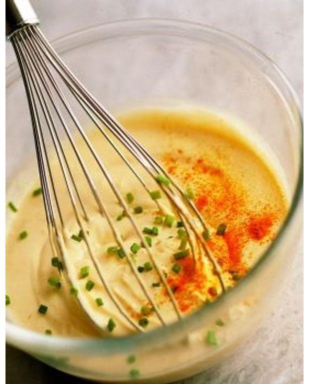 Mayonnaise all g e pour 4 personnes recettes elle table - Recette mayonnaise au mixeur ...