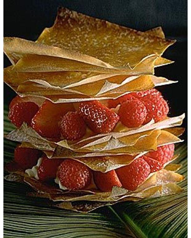 Mille-feuille Aux Fruits Rouges Pour 4 Personnes