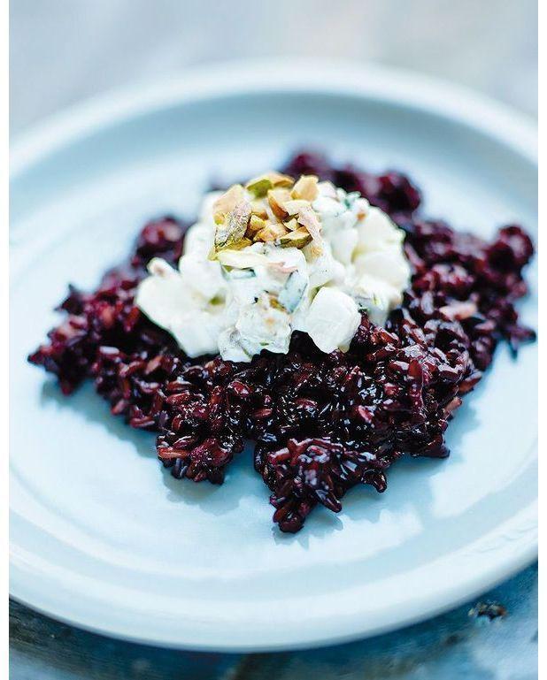 Riz noir aux navets et aux pistaches pour 4 personnes recettes elle table - Calories pistaches grillees ...