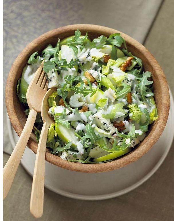 La Cuisine Algérienne Graines De Cafe: Salade De Chou Au Céleri Et à La Pomme Verte Pour 4