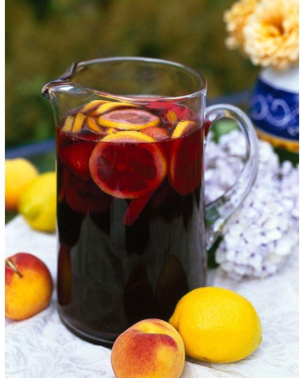 Sangria pour 10 personnes recettes elle table - A bon verre bonne table recettes ...