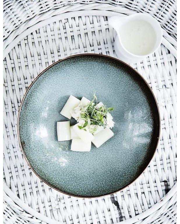 soupe d asperges blanches au riz pour 2 personnes recettes elle table. Black Bedroom Furniture Sets. Home Design Ideas