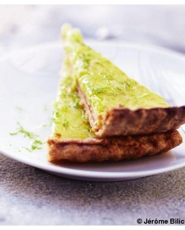 Tarte au citron vert pour 6 personnes recettes elle table - Tarte au citron cuisine az ...