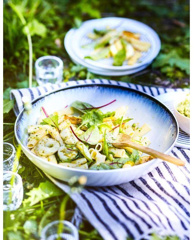 Salade italienne calamar basilic pour 6 personnes - Basilic seche a ne pas consommer ...