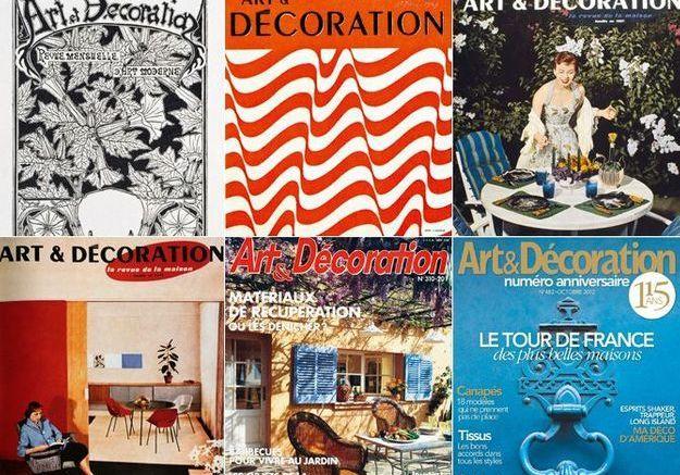 Magazine Art Et Decoration. Mel Et Kio Artistes Oeuvres Murales