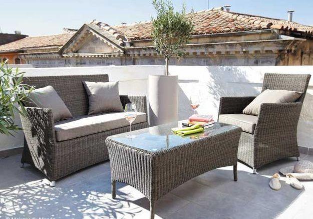 Votre balcon se refait une beaut pour l t elle - Salon de jardin special balcon ...