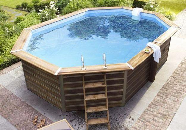 les piscines hors sol des solutions faciles et pas ch res elle d coration. Black Bedroom Furniture Sets. Home Design Ideas