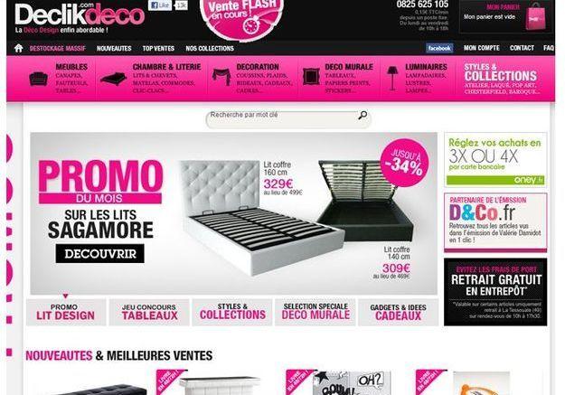 Declikdeco.com : le champion des petits prix