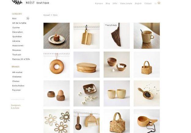 Boutique deco scandinave en ligne id es sur les parcs et for Site deco maison en ligne