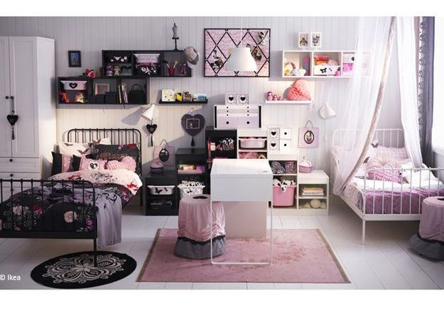 comment decorer sa chambre d ado maison design. Black Bedroom Furniture Sets. Home Design Ideas