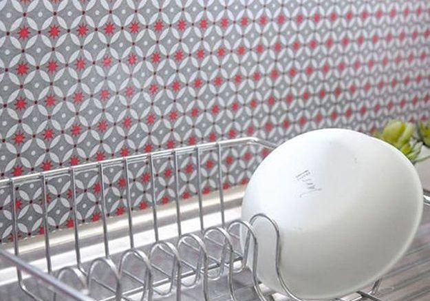 Quel mat riau pour la cr dence de ma cuisine elle d coration - Carrelage plastique adhesif ...