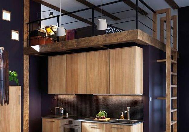 mezzanine nos conseils pour un am nagement r ussi elle. Black Bedroom Furniture Sets. Home Design Ideas