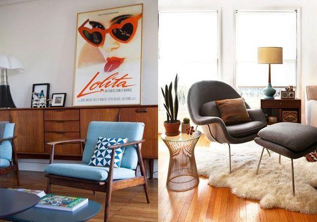 5 styles vintage copier elle d coration. Black Bedroom Furniture Sets. Home Design Ideas