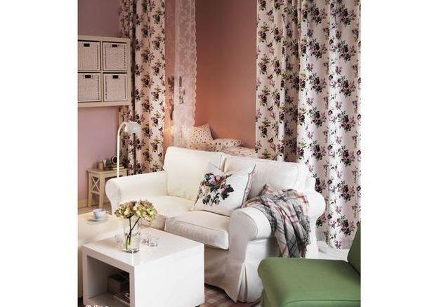 8 astuces pour d tourner ses rideaux elle d coration. Black Bedroom Furniture Sets. Home Design Ideas