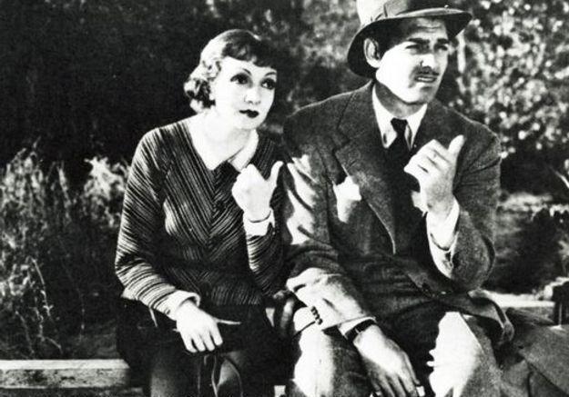Claudette Colbert et Clark Gable dans « New-York Miami »