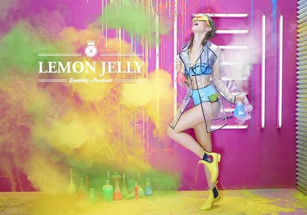 Push mode : les couleurs pop de Lemon Jelly
