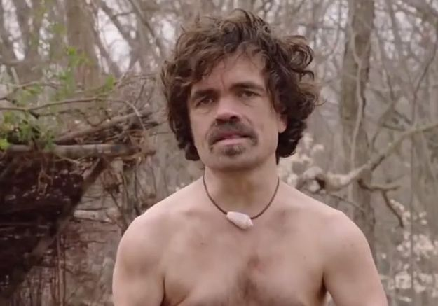 Game of Thrones : l'acteur Peter Dinklage nu dans la nature pour un sketch