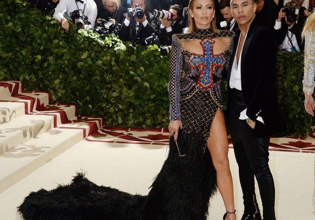 Jennifer Lopez et Olivier Rousteing