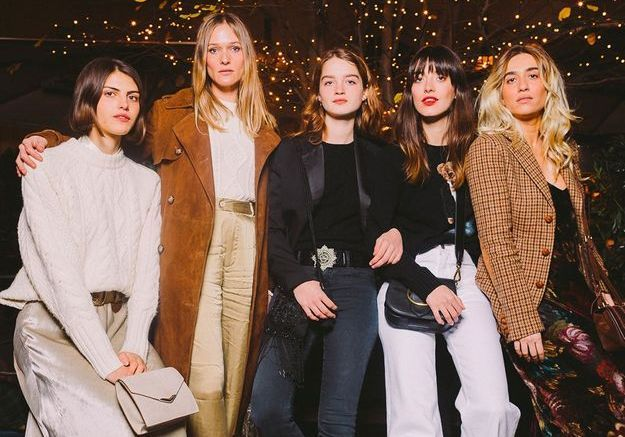 Lila Cardona, Ella Jazz, Adèle Farine, Louise Follain et Joanne Palmaro