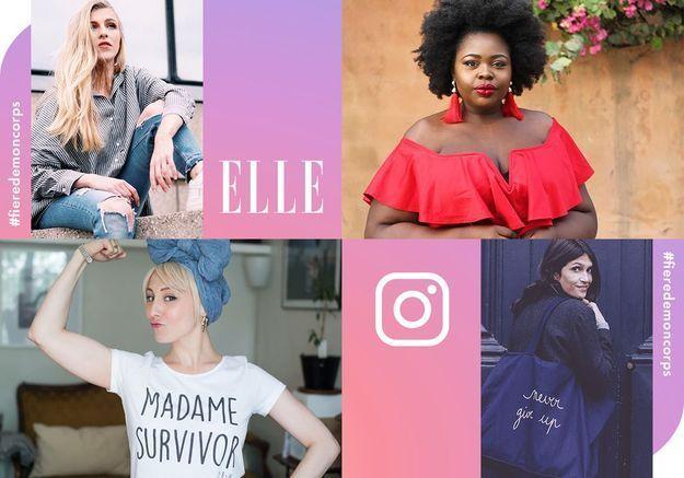 #Fieredemoncorps : ELLE et Instagram célèbrent le mouvement « bodypositive »