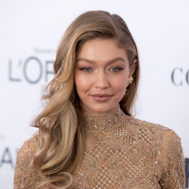 Gigi Hadid : le secret de ses cheveux brillants ne coûte que 5€