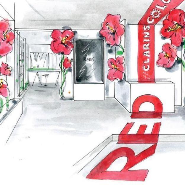 #ELLEBeautySpot : Clarins ouvre son premier pop up store dans le Marais