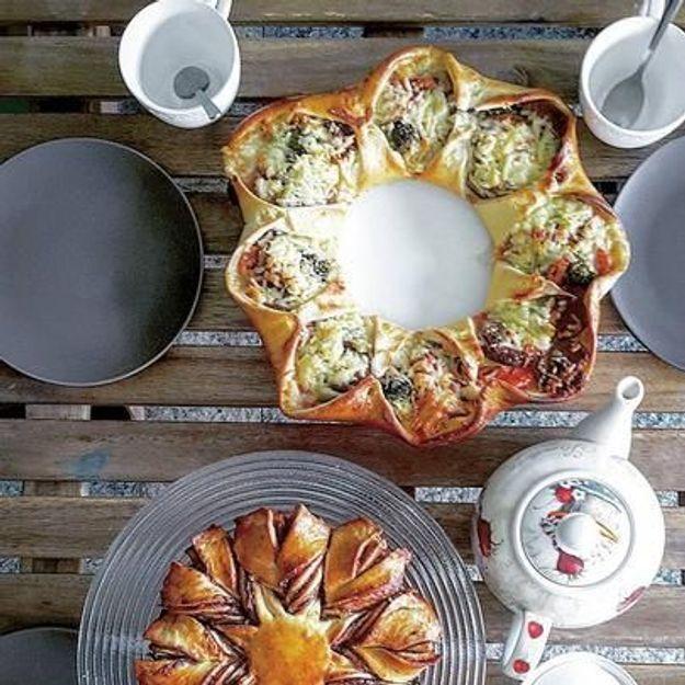 La pizza couronne : la pizza bijou qui a tout bon